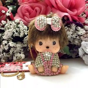NEW✨ Betsey Johnson Monchhichi Baby Doll Necklace